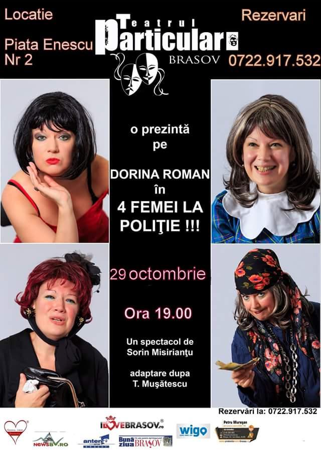 Dorina-Roman-4-femei-la-politie-in-Teatrul-Particular-Brasov